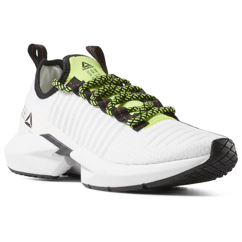 266c9958afd611  Reebok Sole Fury White Black Lime Red Running Lifestyle Men s buy it now