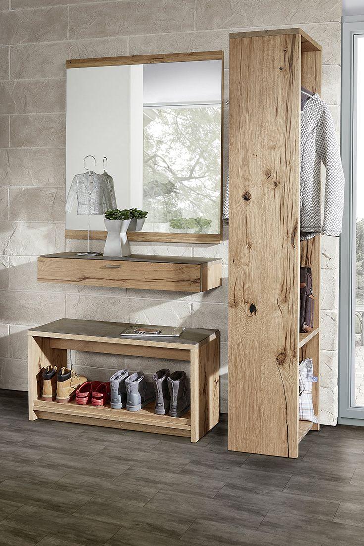Schroder Mobel Kitzalm Living Garderobe Alteiche Mobel Letz Ihr Online Shop Garderoben Eingangsbereich Haus Badezimmer Dekor
