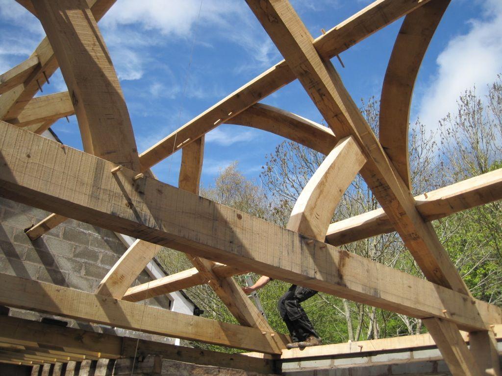 Shropshire extension - #timberframe Castle Ring Oak Frame   Timber ...