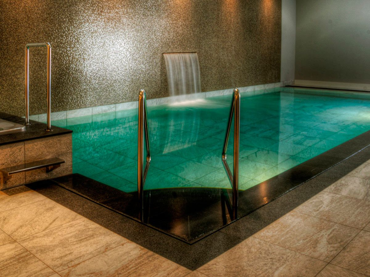 Indoor swimming pool by vsb wellness indoor pool binnen