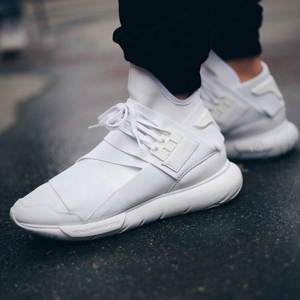 huge discount 7d0b6 d0328 The Y-3 Qasa Triple White. Stop on Y-3.com or in retail. Image by   bstnstore  adidas  Y3  Qasa