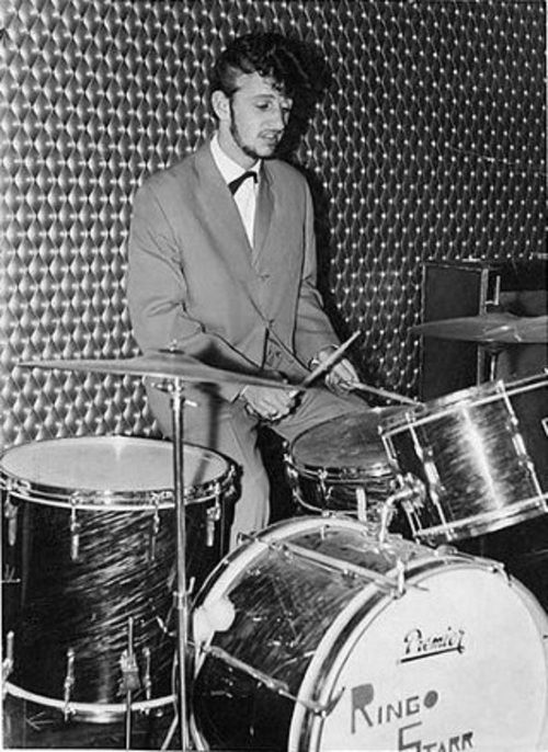 Richard Starkey Drummer For Rory Storm And The Hurricanes Ringo