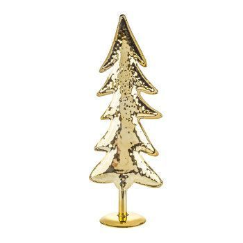 Gold Metal Tree Decor Small