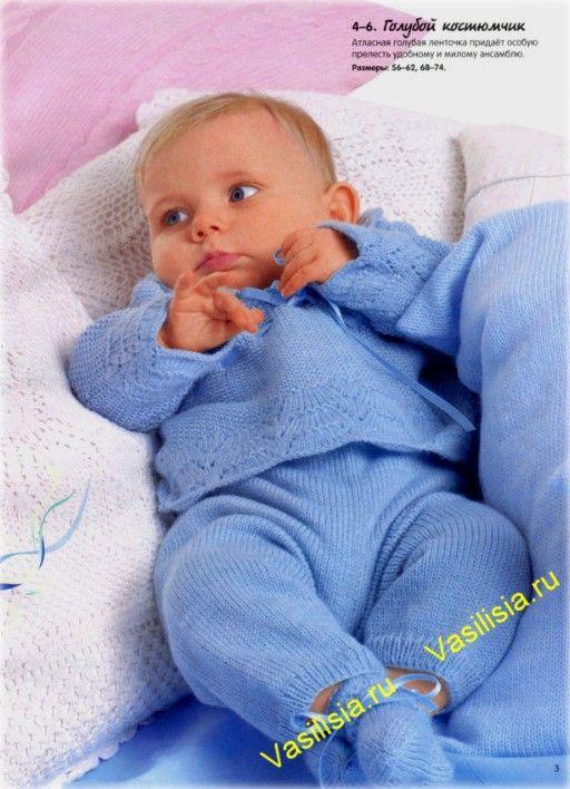 костюмчик для мальчика вязаный спицами детские идеи вязание