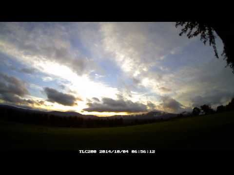 Time lapse video of sunrise in Maine and Vermont | HomeCentrl @brinno