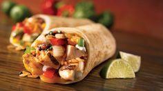 Syn Free Fajita Burrito Wraps