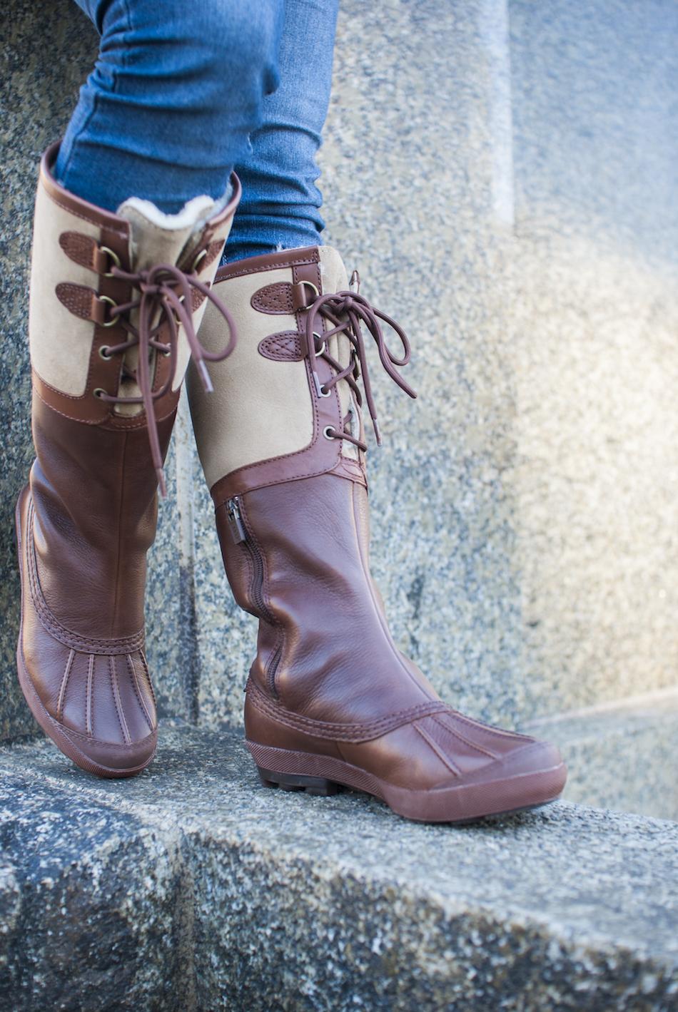 UGG Australia's waterproof leather duck boot for women