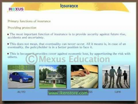 Insurance This Animation Introduces The Learner To The