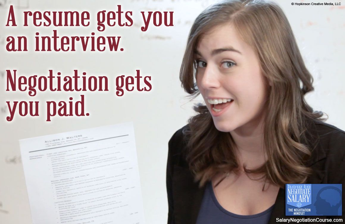 Sure, your resume and a good handshake are important when
