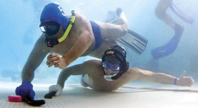 San Diego Underwater Hockey