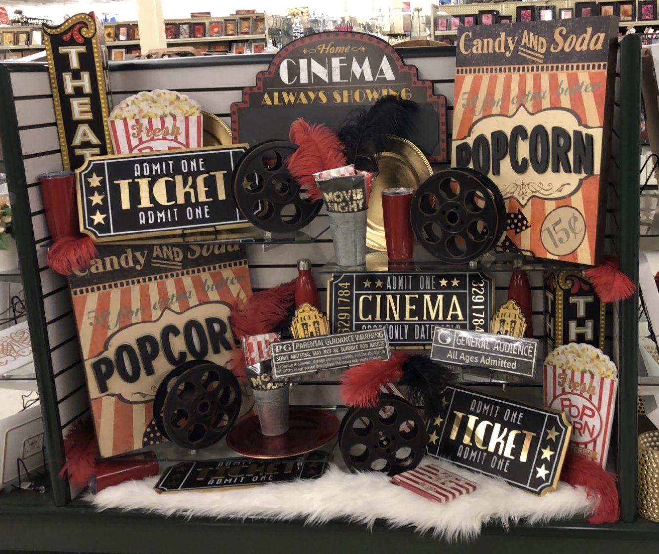 Movie Decor, Theater Room Decor