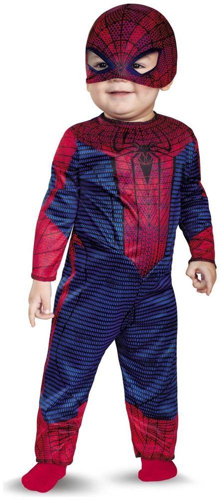 The Amazing Spider-Man Infant /Toddler Costume  sc 1 st  Pinterest & The Amazing Spider-Man Infant /Toddler Costume | ebay.com/SpicyLegs ...