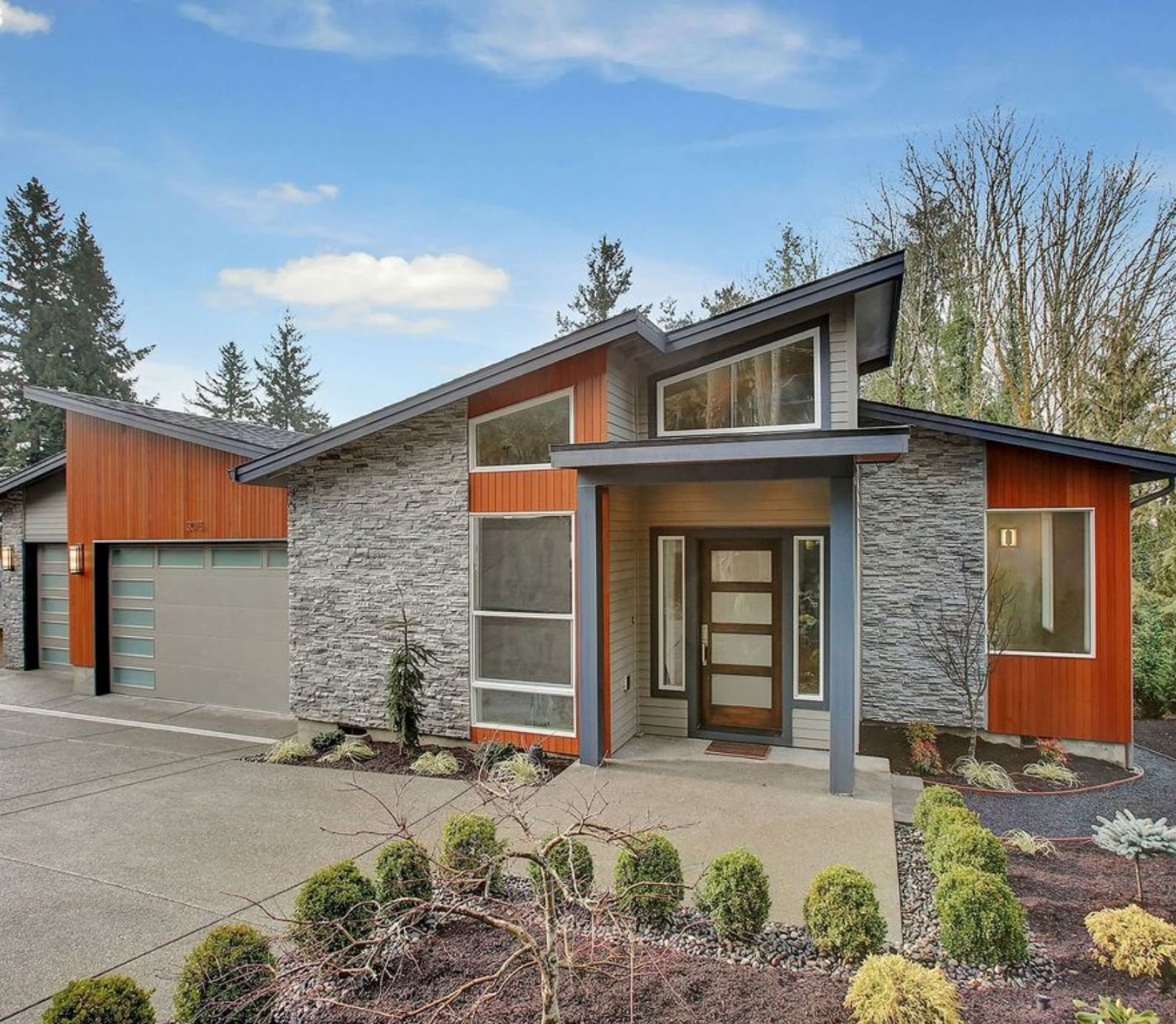 A Modern Daylight Basement House Plan with Style for Days ...