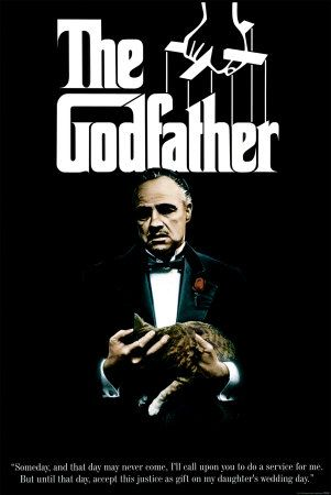 """The Godfather is the I-ching. The Godfather is the sum of all wisdom. The Godfather is the answer to any question. What should I pack for my summer vacation? """"Leave the gun, take the cannoli."""" What day of the week is it? (insert Sicilian accent) """"Mo-nday, Tu-esday, Thur-sday, We-dnesday."""""""