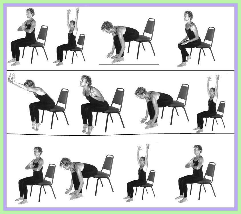 126 Reference Of Chair Exercises Elderly In 2020 Yoga For Seniors Chair Exercises Chair Pose Yoga