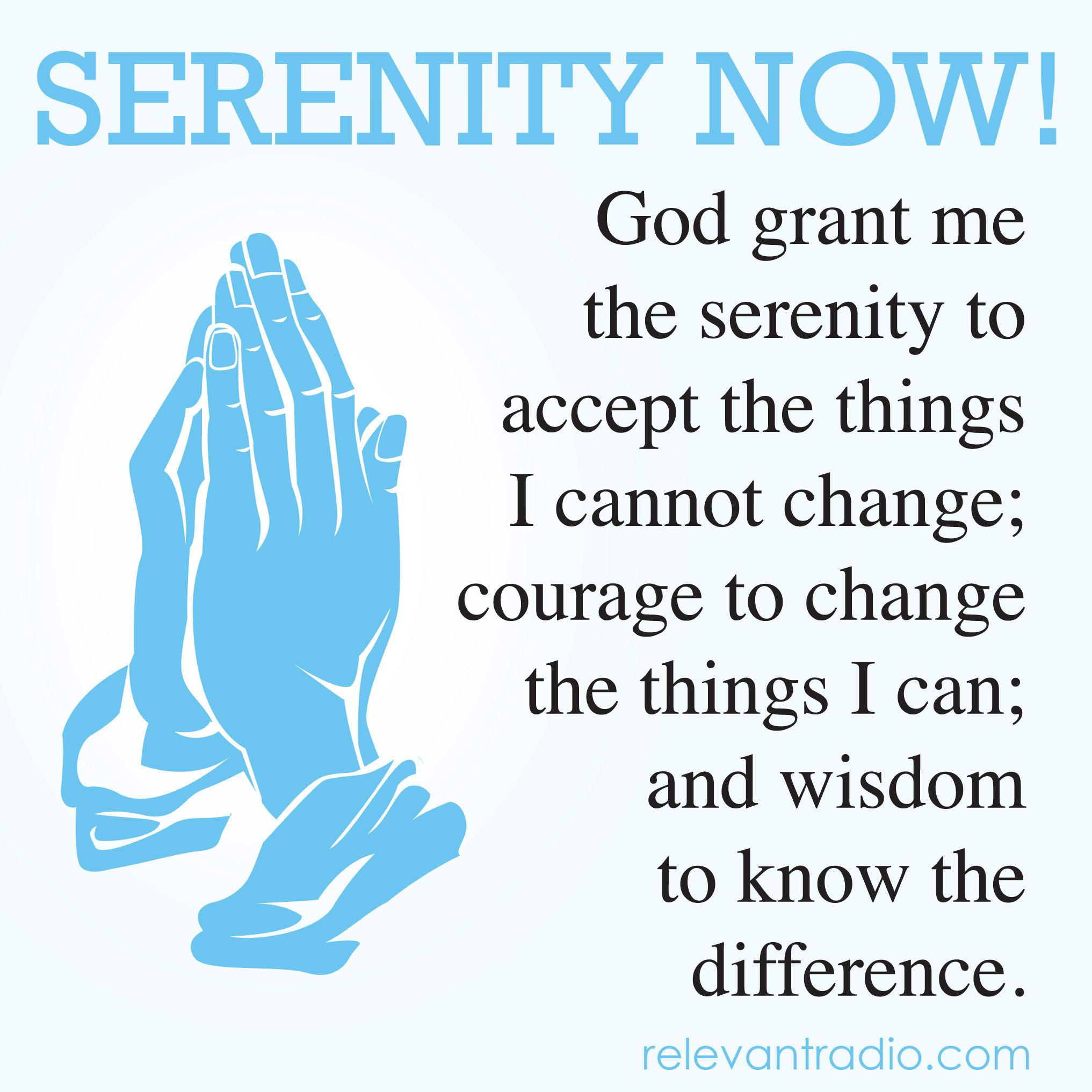 A great little prayer that works much better than just