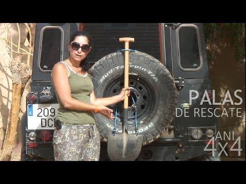 Palas De Rescate 4x4 Para Atasco En Arena O Barro Cómo Llevarla En La R 4x4 Pales Jeep