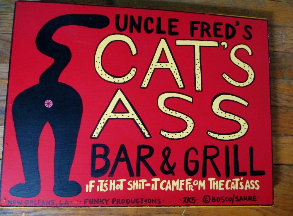 Asshole bar grill