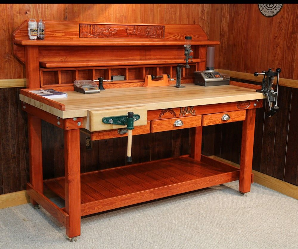 Attractive Reload | Reloading Bench | American Work Bench | Made In USA