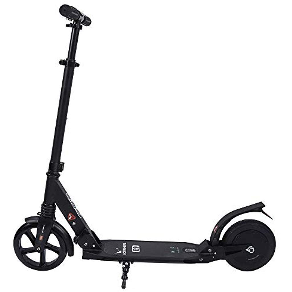 Geterkey Electric Scooter 10 km Long-Range 15 km/h with 8 inch Solid Rubber Tires Lightweight and Fo...