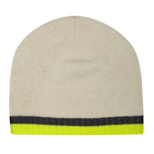 be97762b44a Neon Yellow   Neutral Cashmere Beanie
