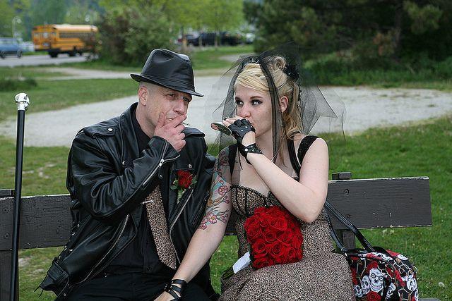 Glenn And Jenny S Punk Rock Wedding By Via Flickr