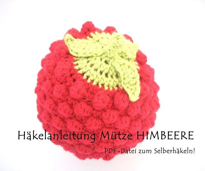 Anleitung Häkelmütze *HIMBEERE*, E-Book | Häkelmützenmuster ...