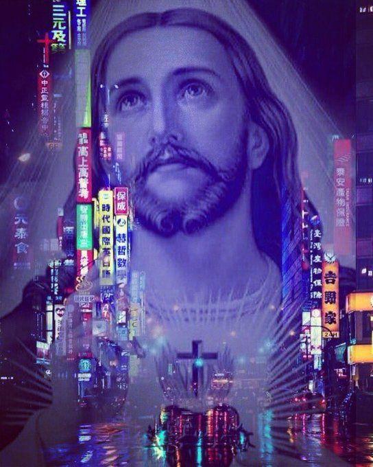 Churchwave_VBS on | Music aesthetic, Waves, Vaporwave