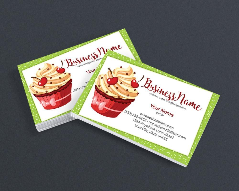 Bakery business card design chef business card design cupcake bakery business card design chef business card design cupcake business card design cupcake magicingreecefo Images