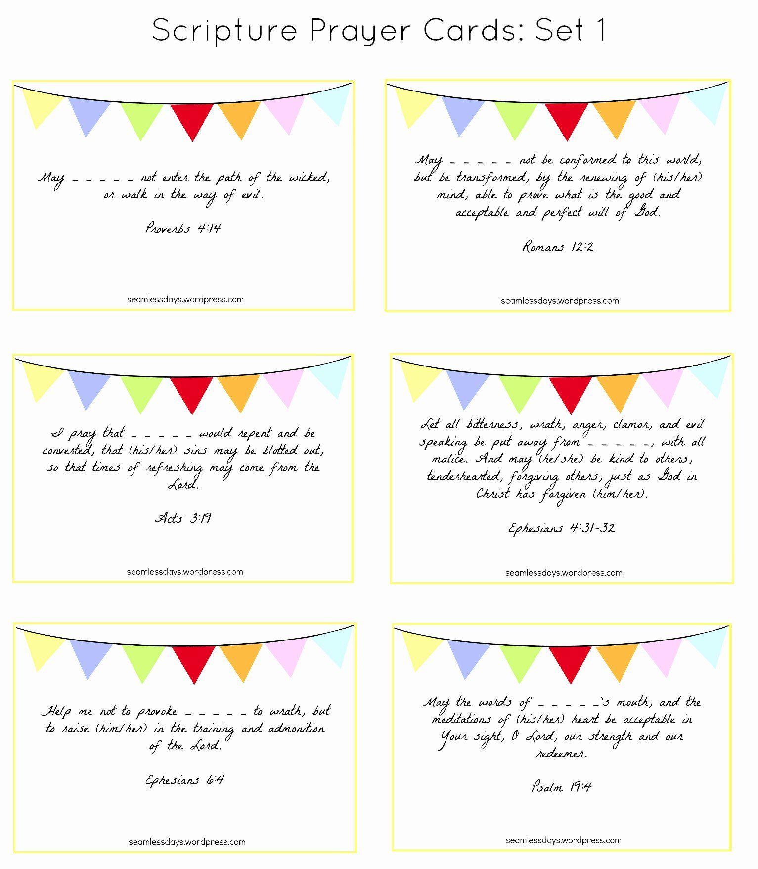 Prayer Card Templates Free Elegant Praying For Your