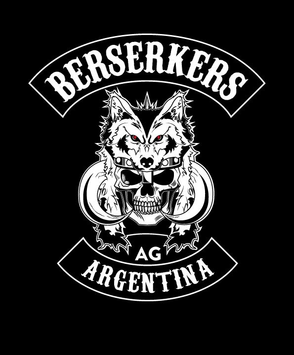 Berserkers Motorcycle Club Logo On Behance Motorcycle Clubs Motorcycle Club Logo Motorcycle Logo Motorcycle club patch template photoshop