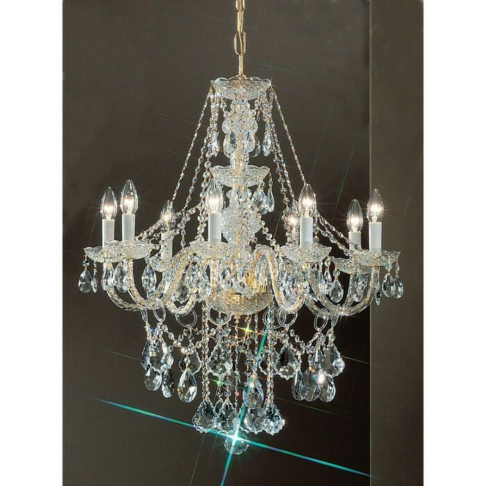 design classic lighting monticello 8light crystal chandelier by classic lighting lighting