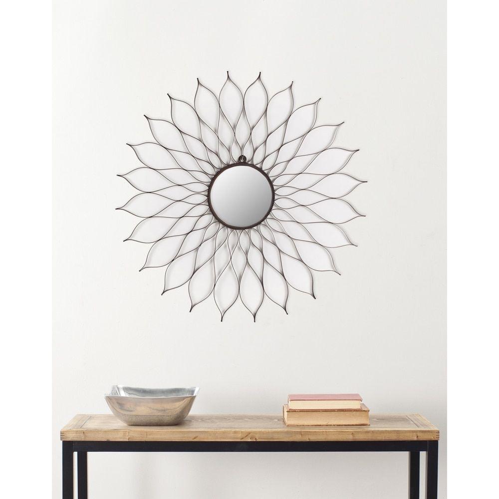 Safavieh Handmade Arts and Crafts Flower 35-inch Mirror