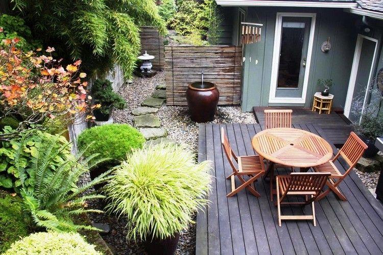 Kleiner Garten Ohne Rasen Innenhof Möbel Small Garden Kleine
