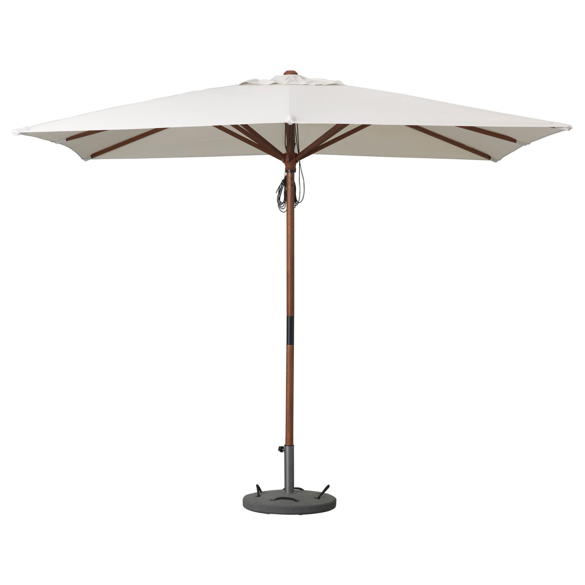 LÅNGHOLMEN / LÖKÖ Umbrella with base - IKEA | for the