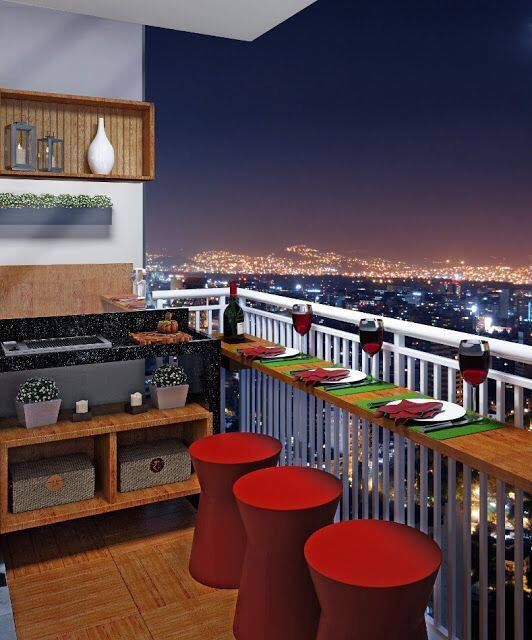 Ideas para terrazas con poco espacio decoração Pinterest Ideas - decoracion de terrazas pequeas