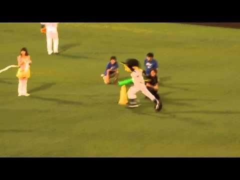 H26 07 19 マスコットキャラクター セパ対抗バトンリレー オールスターゲーム 甲子園 330