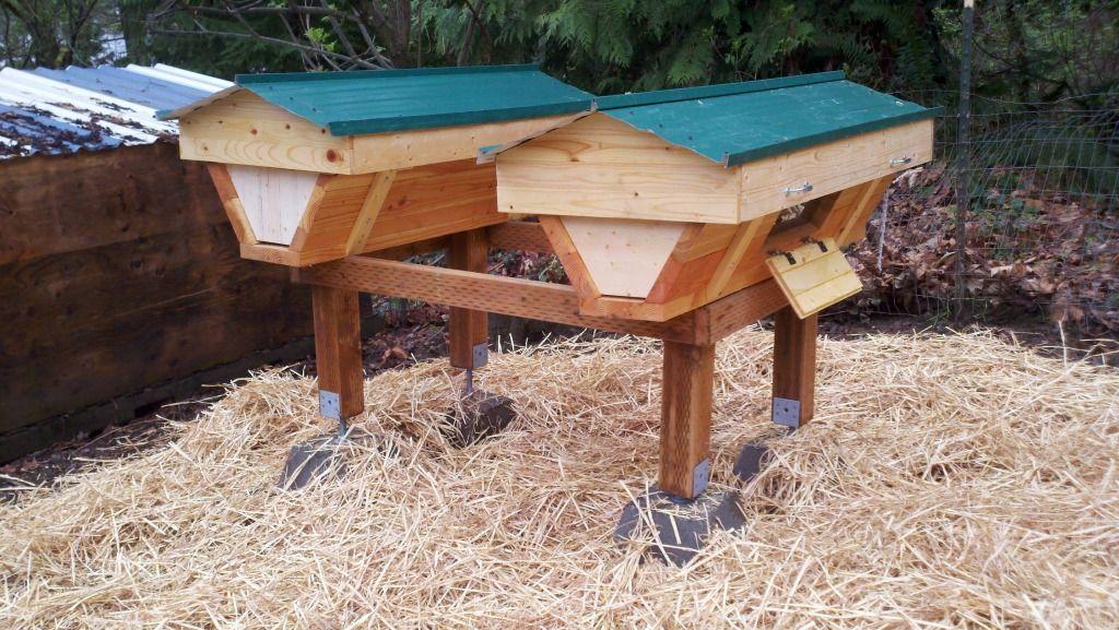 Top Bar Bee hives... | Bee keeping, Bee hive