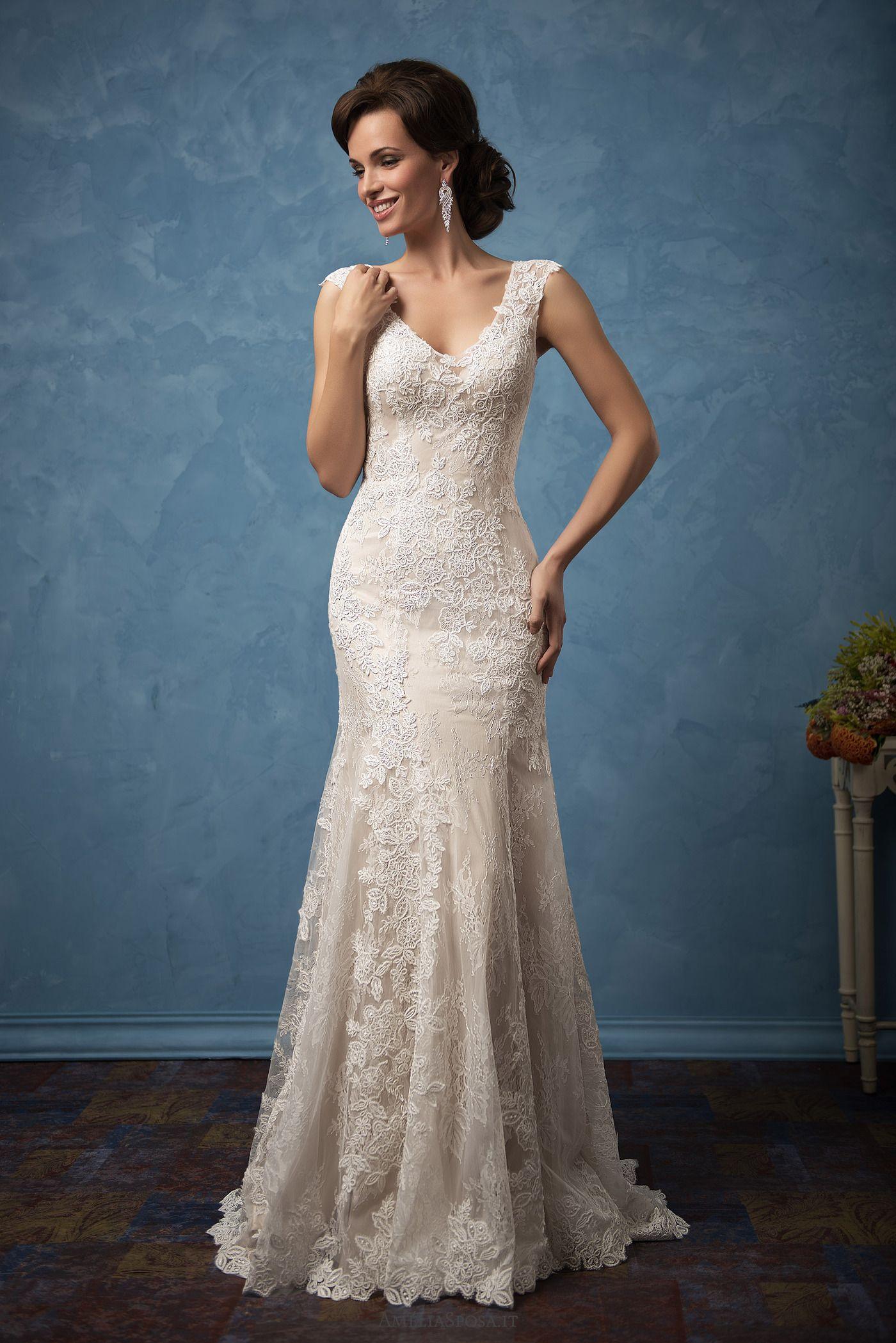 Wedding dress Adriana | For my girls future | Pinterest | Wedding ...