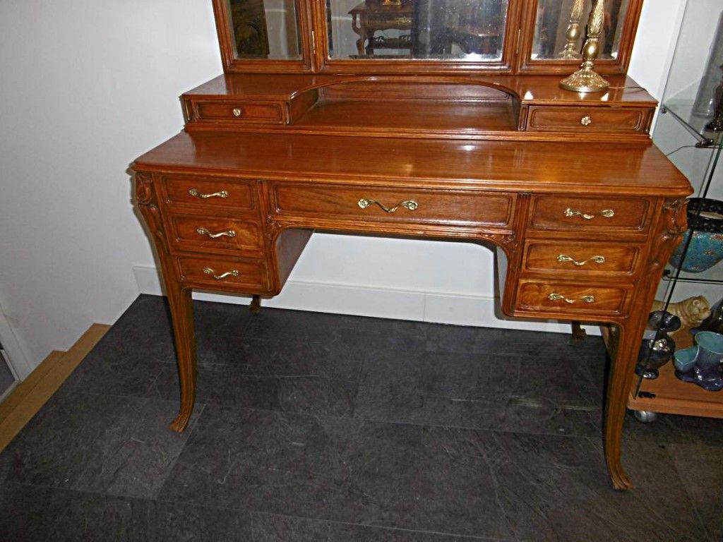 Coiffeuse Art Nouveau Ecole De Nancy Autres Meubles Art Nouveau Mobilier De Salon Coiffeuse