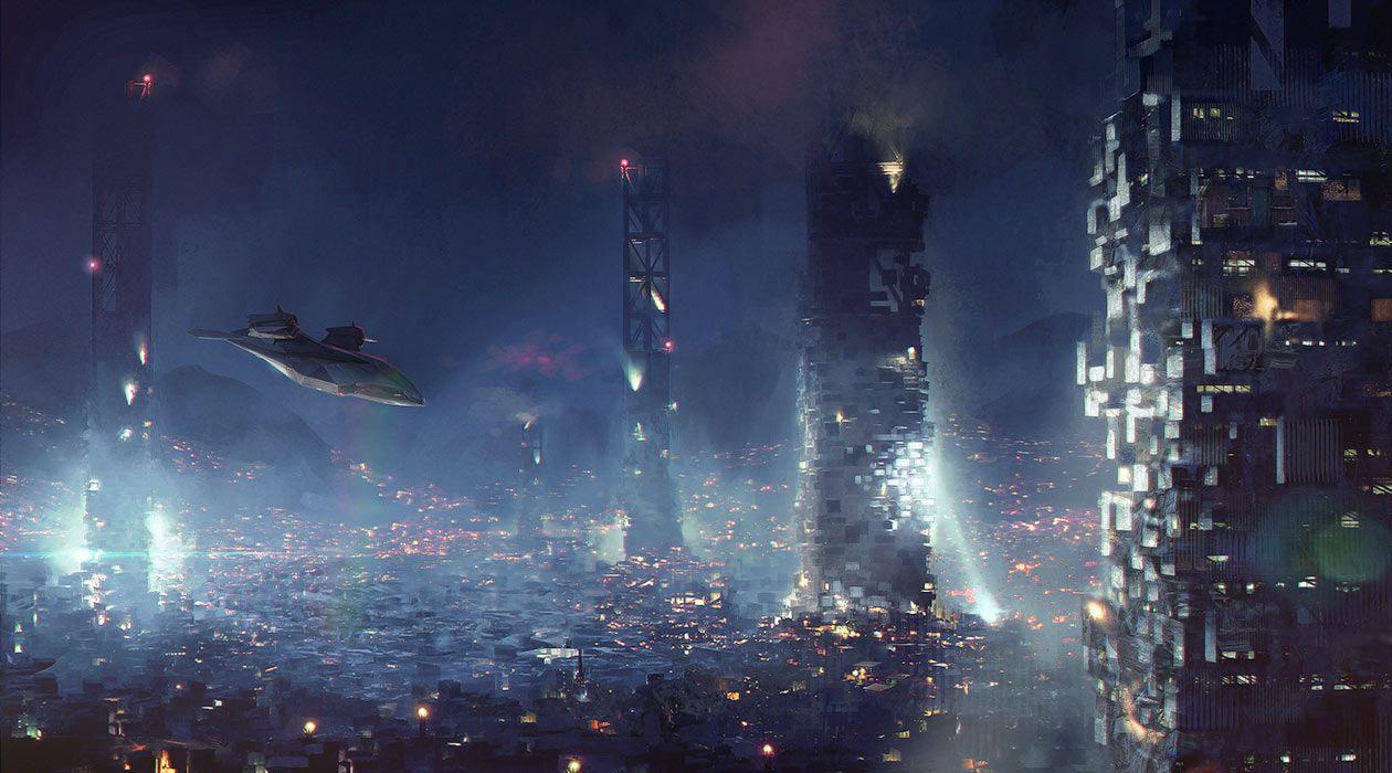 Deus Ex: Mankind Divided - Skyline Flyby