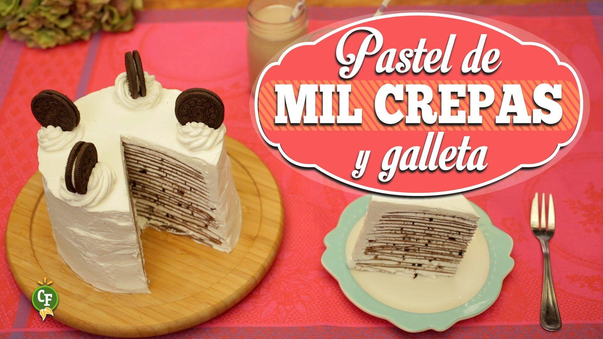 ¿Cómo preparar Pastel Helado de Mil Crepas y Galletas? - Cocina Fresca