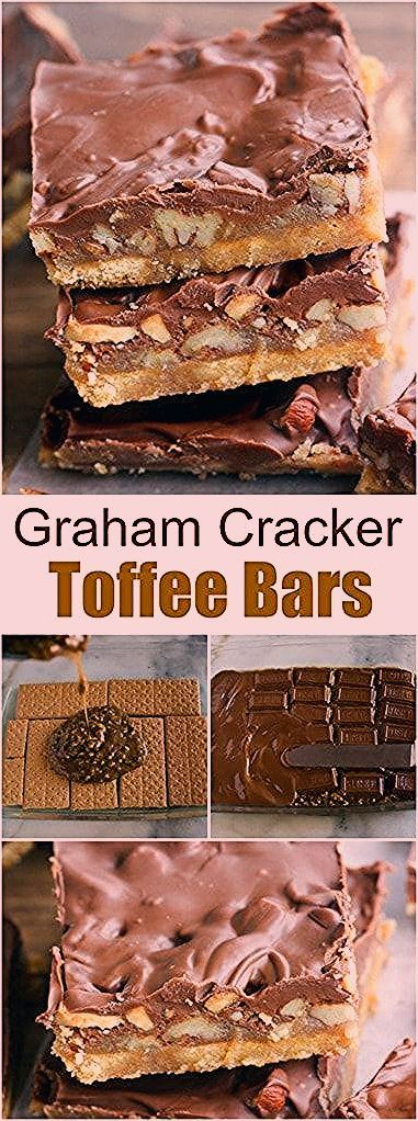 Photo of Christmas Crack (Graham Cracker Toffee Bars)
