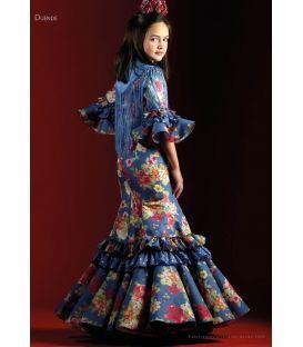 e231c1f7c2 trajes de flamenca 2018 nina - Roal - Vestido de flamenca Duende Flores