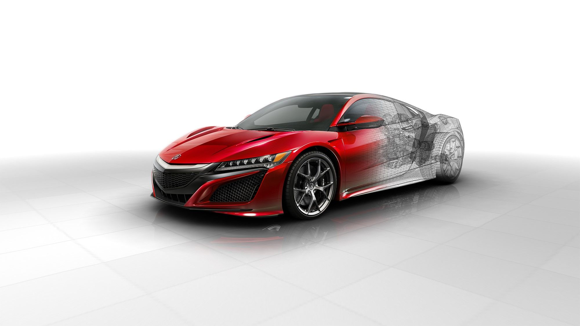 New Technical Details of the Next Generation NSX Acura