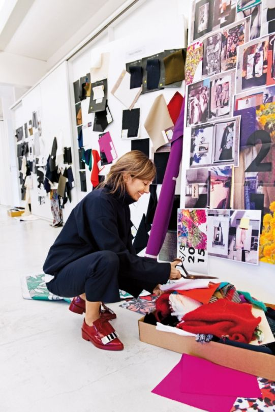 House tour: at home with Marni�s founder and designer - Vogue Living
