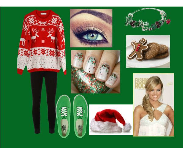 """xmass(:"" by onederful1d17 on Polyvore"