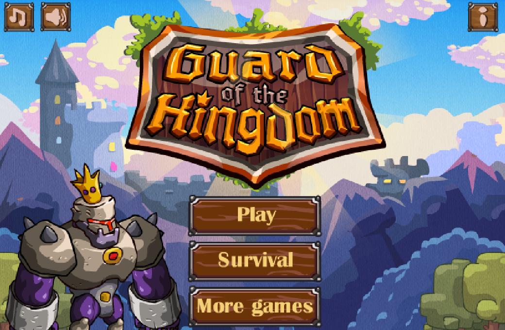 Increible juego de estrategia en el cual deberas de proteger al Rey de todos los monstruos malvados que han invadido el castillo, coloca a tus elementos de la mejor manera