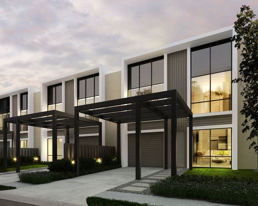 enchanting modern townhouse interior design | The Gardens Townhomes | Chirnside Park in 2019 | Townhouse ...