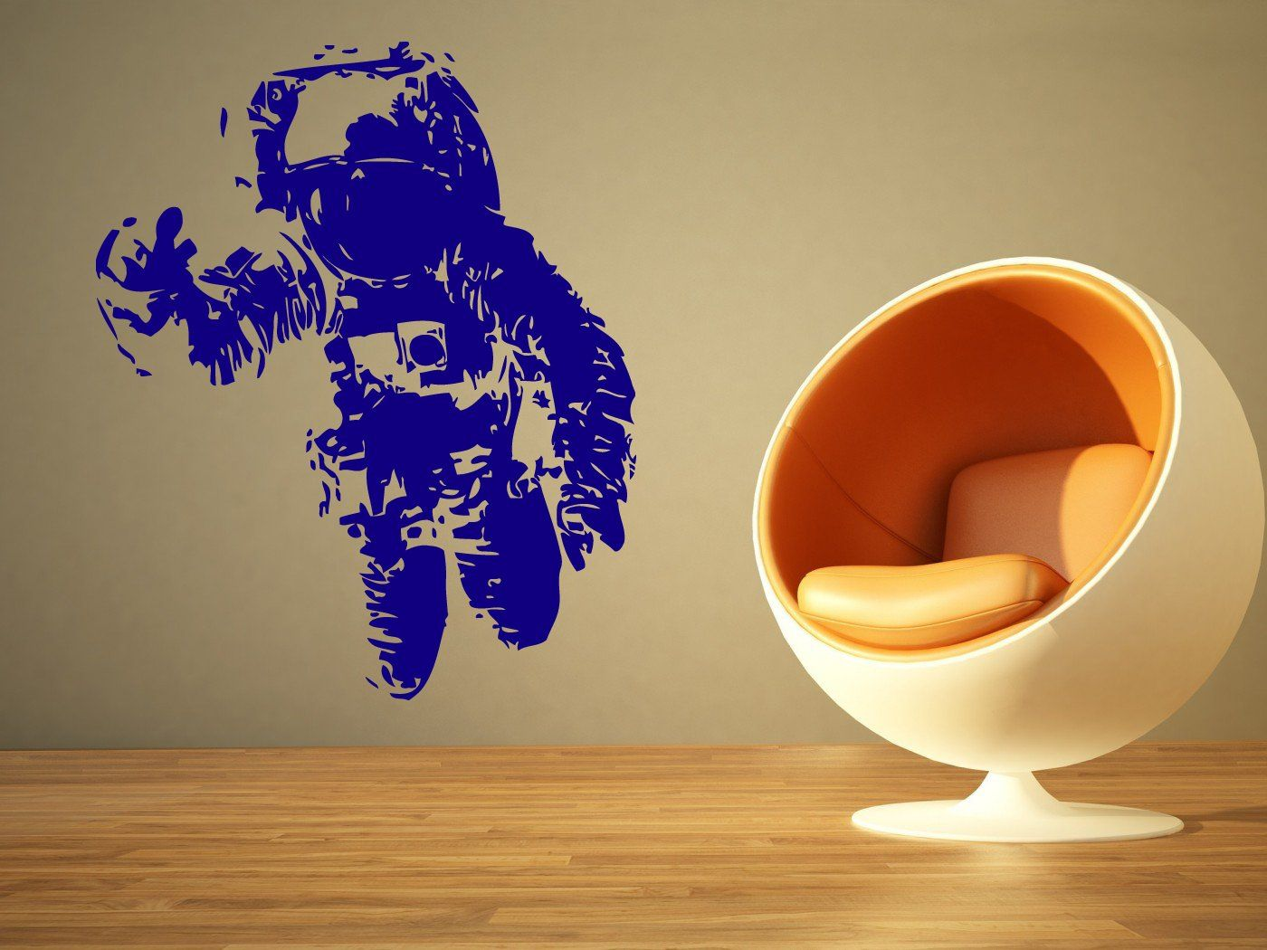 Wall Room Decor Art Vinyl Decal Sticker Mural Spaceman Spacesuit ...